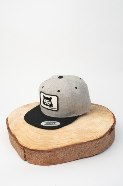 Bergbär Snapback Cap Heathergrey/Black