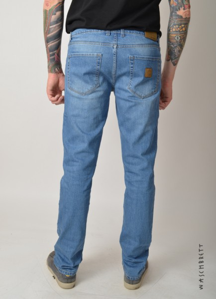 Slim Jeans Pant Lightblue Washed