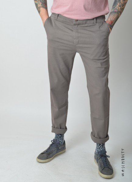 Straight Chino Pant Grey