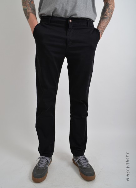Straight Chino Pant Black