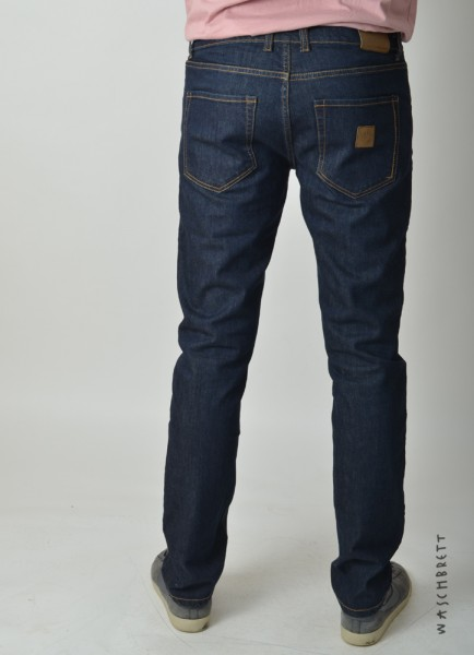 Slim Jeans Pant Raw Blue