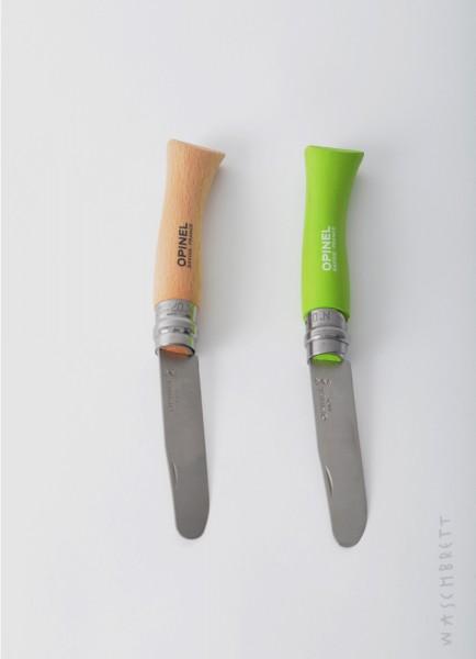 Opinel Kinder-Taschenmesser Buchenholz oder Grün