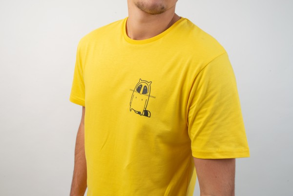 Small Logo T-Shirt Yellow/Black