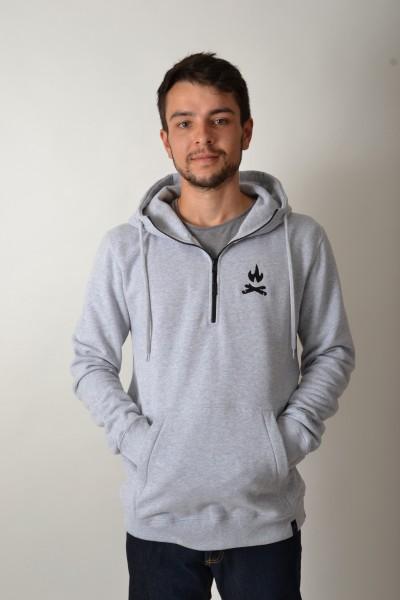 Easy Halfzip Sportgrey/Black