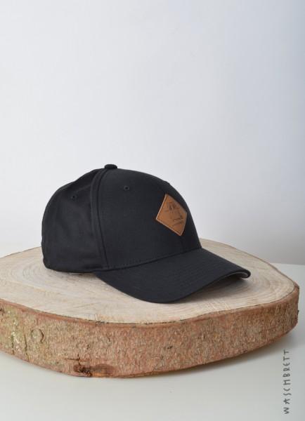 Logo Diamond Flexfit Cap Black